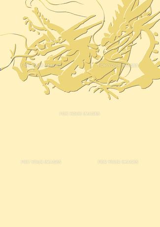 三匹の龍の素材 [FYI00945482]