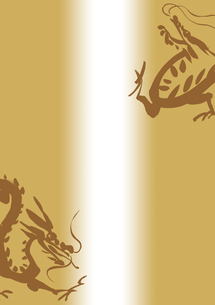 二匹の龍の素材 [FYI00945543]