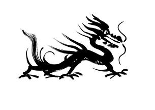 立つ龍の素材 [FYI00945574]