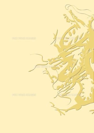三匹の龍の素材 [FYI00945575]