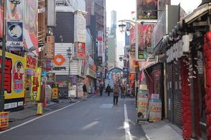 歌舞伎町さくら通りの素材 [FYI00949125]