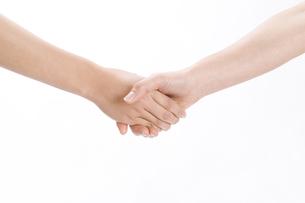 握手する女性の手の素材 [FYI00949747]