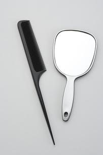 櫛と手鏡の素材 [FYI00949998]