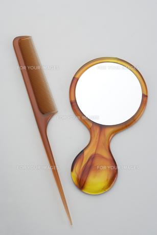 櫛と手鏡の素材 [FYI00950004]