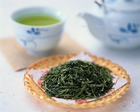 緑茶の素材 [FYI00950308]