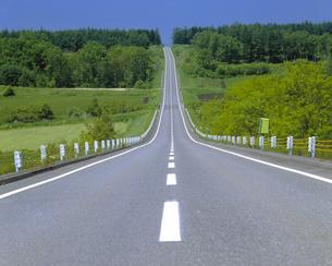 直線道路の素材 [FYI00953002]