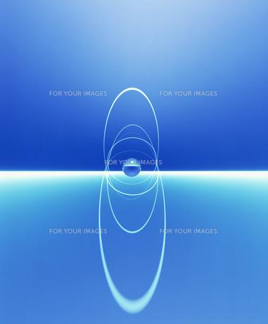 球体とリンクのイメージ CGの素材 [FYI00954246]