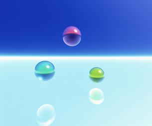 球体イメージ CGの素材 [FYI00954354]