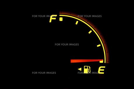 ガス欠の燃料計の素材 [FYI00954693]