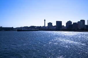 大桟橋より望む山下公園の素材 [FYI00955031]