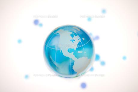 ガラスの地球儀の素材 [FYI00957441]
