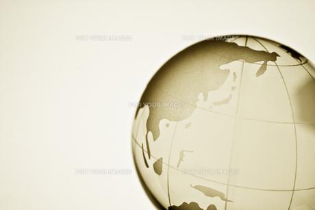 ガラスの地球儀の素材 [FYI00957541]