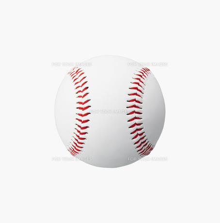 野球ボールの素材 [FYI00958383]