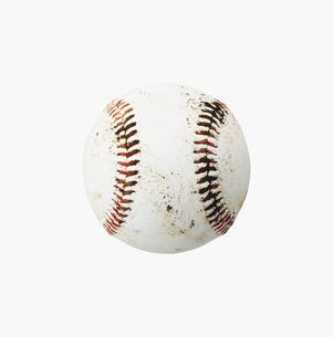 汚れた野球ボールの素材 [FYI00958423]