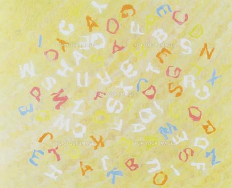 アルファベットの素材 [FYI00960113]