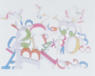 数字とアルファベットの素材 [FYI00960162]