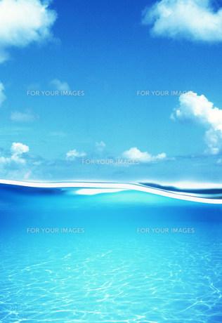 水のイメージの素材 [FYI00960293]