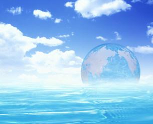 地球のイメージの素材 [FYI00960317]