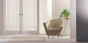 インテリア  観葉植物と椅子の素材 [FYI00960556]