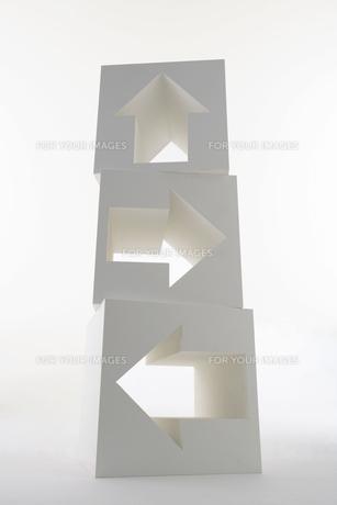 矢印のオブジェの素材 [FYI00960677]