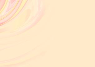 黄色と赤の波紋の素材 [FYI00961241]