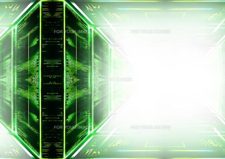 緑色の背景にたくさんの英字の素材 [FYI00961252]