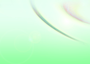 緑色の波紋のような形の素材 [FYI00961253]