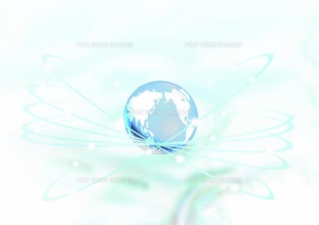 世界地図の描かれた球体の素材 [FYI00961260]