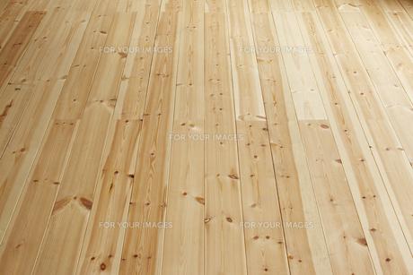 白木の床材の素材 [FYI00961681]