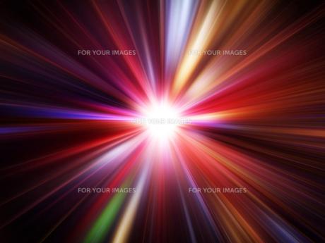 光の放射の素材 [FYI00963079]