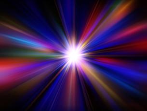 光の放射の素材 [FYI00963183]