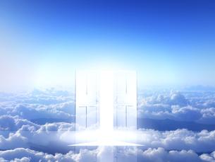 光が射し込むドアの素材 [FYI00963455]