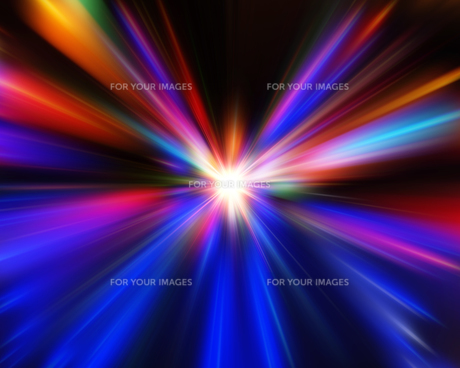 光の放射の素材 [FYI00963726]