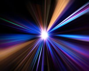 光の放射の素材 [FYI00963727]