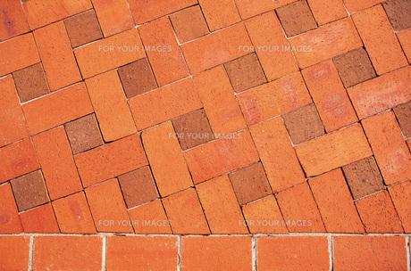 格子柄の床の素材 [FYI00969324]