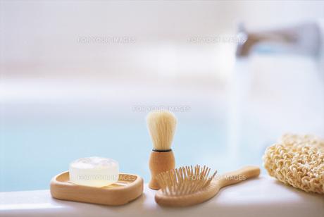バスルームの小物の素材 [FYI00969568]