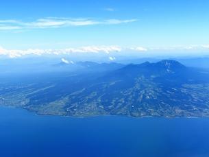 空撮の大山の素材 [FYI00969887]