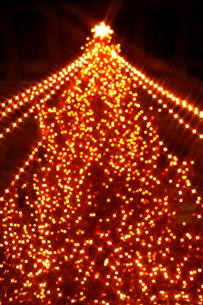 クリスマスイルミネーションの素材 [FYI00970327]