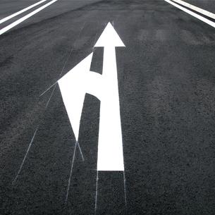 道路標示の素材 [FYI00970765]
