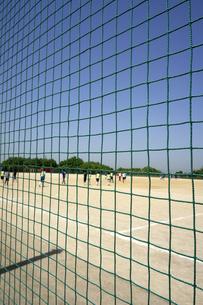 サッカー場の防球ネットの素材 [FYI00971591]