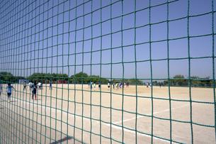 サッカー場の防球ネットの素材 [FYI00971736]