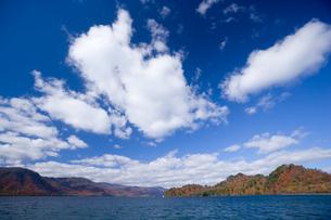 湖と青空の素材 [FYI00975687]