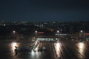 雨の名古屋空港の素材 [FYI00982345]