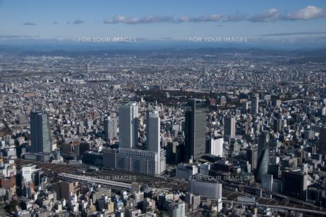 空撮:名古屋駅付近の素材 [FYI00982402]