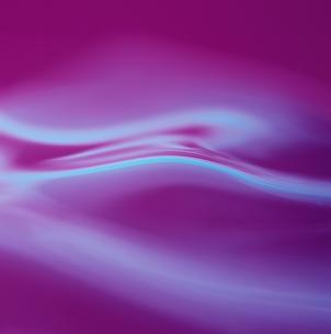 アブストラクト 波(ピンク)の素材 [FYI00982475]