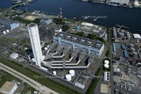 空撮:名古屋火力発電所の素材 [FYI00982479]