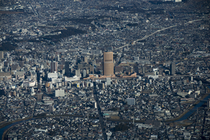 空撮:浜松駅の素材 [FYI00982522]