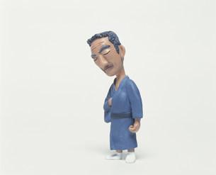 着物の中高年男性のクラフトの素材 [FYI00986231]