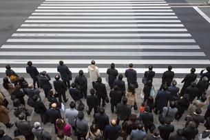 東京の通勤風景の写真素材 [FYI00986354]