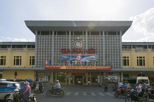 ベトナム ハノイ駅の写真素材 [FYI00986360]